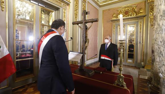 Ántero Flores-Aráoz asegura que ya completó su gabinete ministerial (Presidencia).