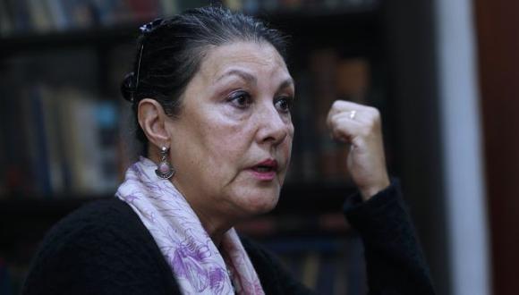 Fabiola León-Velarde es la nueva presidente del consejo directivo del Concytec. (Perú21)