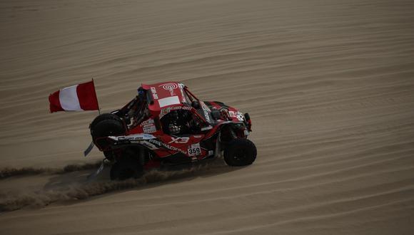 Juan Carlos y Javier Uribe lograron su clasificación al Dakar 2018 gracias a la obtención del 'wildcard' por su participación en el Baja Inka. (EFE)