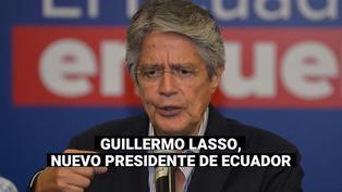 Elecciones en Ecuador: Guillermo Lasso vence al correísta Arauz y es el nuevo presidente
