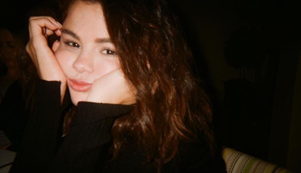 """Selena Gómez subió unas fotos y un video de su participación en """"Shark Tank"""", su programa favorito. (Foto: @selenagomez)"""