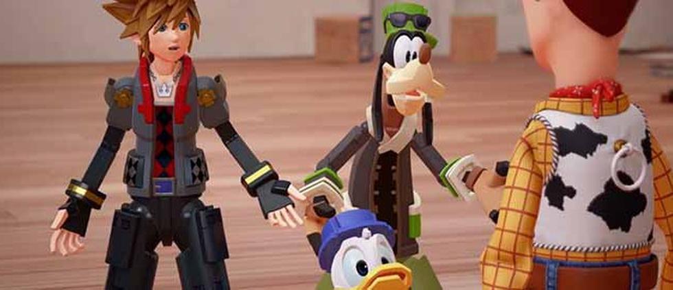 Kingdom Hearts III llegará el próximo 29 de enero para PS4 y Xbox One.