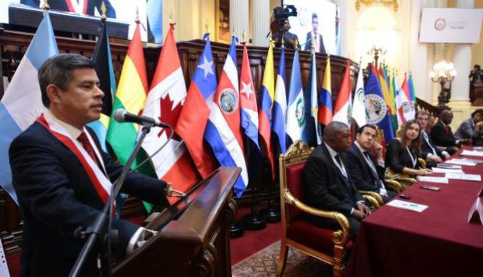 Galarreta afirmó que lucha anticorrupción es un reto que debe asumir el Congreso.