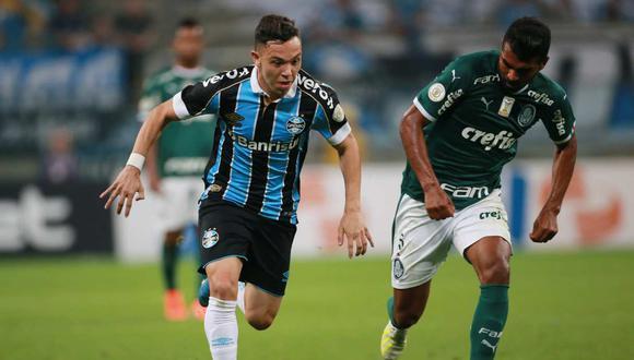 Gremio vs. Palmeiras se miden por la Copa Libertadores. (Foto: Reuters)