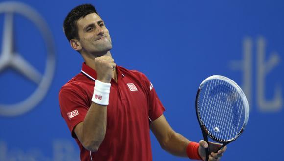 Novak Djokovic sigue imparable en Pekín. (Reuters)