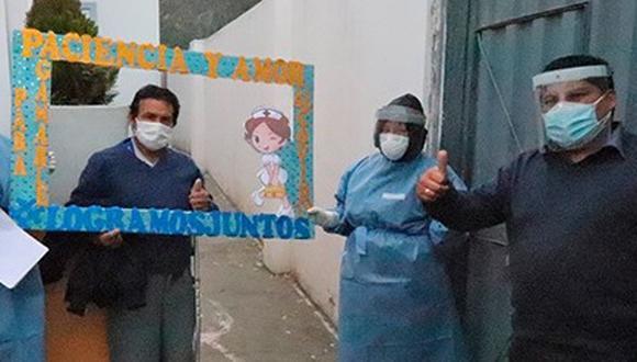 Apurímac: siete personas logran superar el COVID-19 en el hospital sub regional de Andahuaylas (Foto: hospital sub regional)