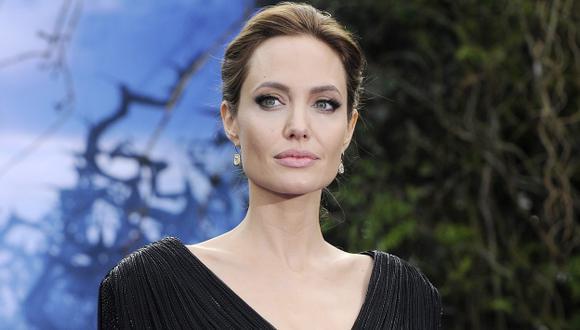 Angelina Jolie condenó agresión. (EFE)