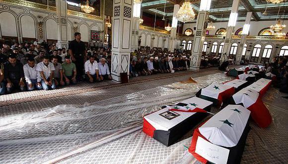 Masacre se produjo en Hama. (AP)