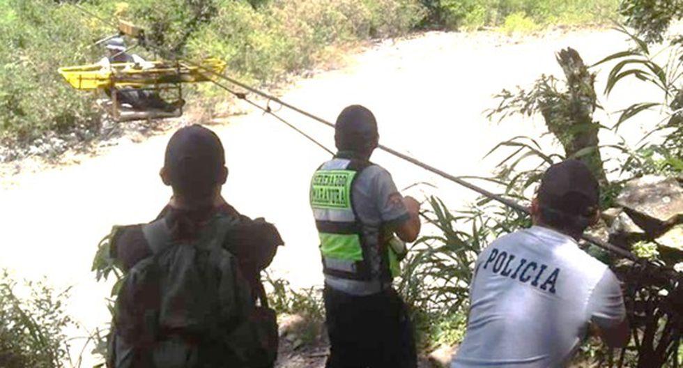 Efectivos de la Comisaría Santa María recuperaron un cuerpo sin vida.