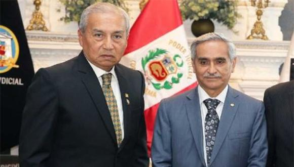 Sobre Pedro Chávarry y Duberlí Rodríguez pesa una denuncia constitucional. (Foto: Agencia Andina)
