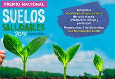 Minagri lanza concurso Premio Nacional Suelos Saludables dirigido a escolares