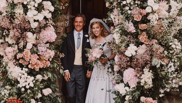 Las fotos de la ceremonia secreta de la princesa Beatriz (Reuters)