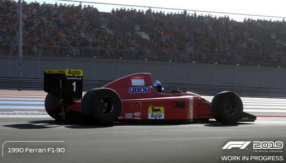 'F1 2019' llegará el próximo 28 de junio a PS4, Xbox One y PC vía Steam