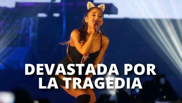 Ariana Grande suspendería tour europeo tras atentado en Manchester. (Foto: AFP)