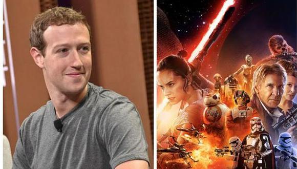 Facebook: Mark Zuckerberg se declara fan de Star Wars con tierna foto de su hija. (Gettyimages)