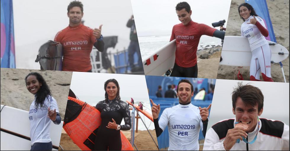 Nuestros surfistas dejaron todo en el mar y lograron medallas de oro, plata y bronce.