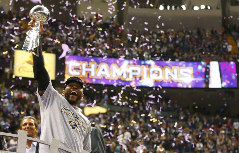 El Superdome de Nueva Orleans se rindió ante los Cuervos de Baltimore. (Reuters)