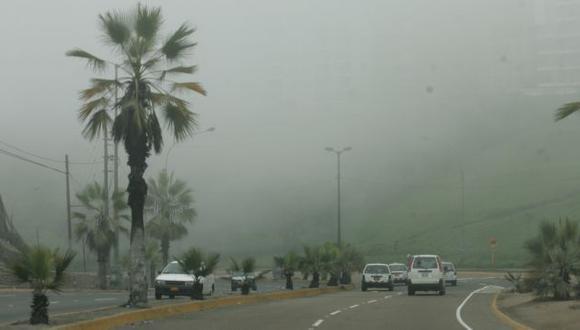 Neblina y sensación de frío continuarán en Lima. (USI)