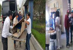 Chofer de combi atropella a cuadrilla de trabajadores y mata madre de familia en Arequipa