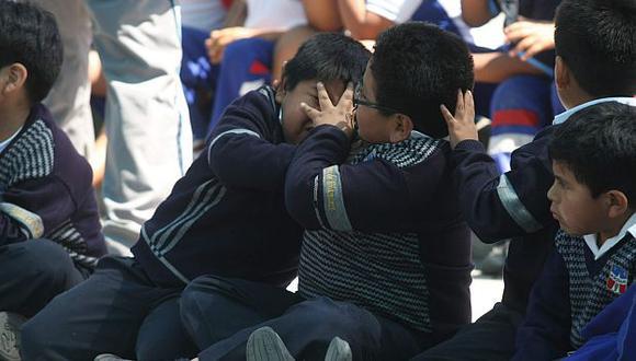 Se busca frenar el acoso entre menores. (Heiner Aparicio)