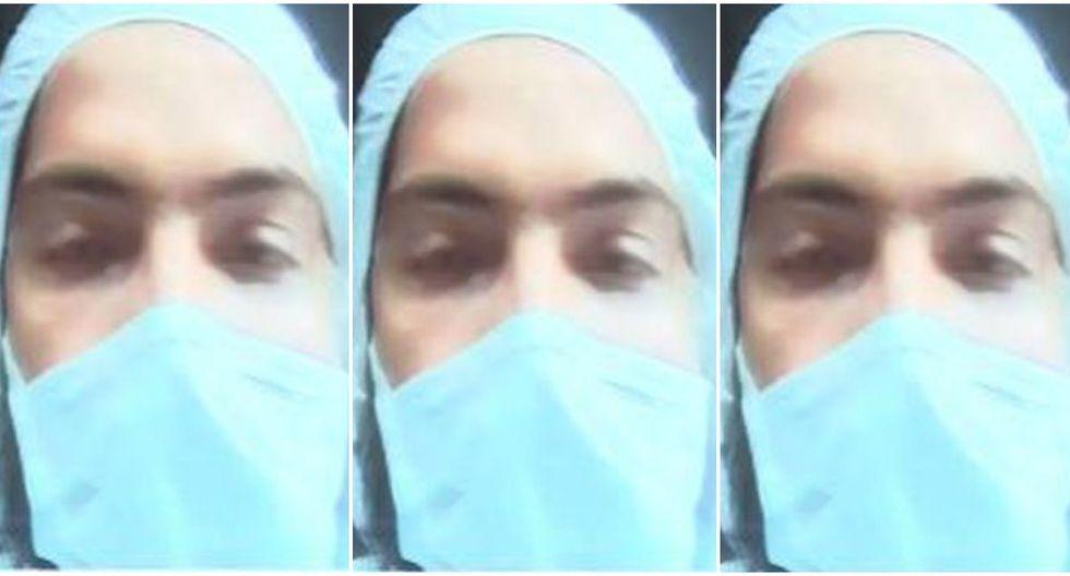 Paciente con coronavirus denuncia que le dieron de alta sin estar restablecido. (Captura)