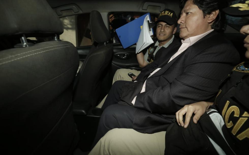 Edwin Oviedo es detenido de forma preliminar por caso 'Los Cuellos Blancos'. (GEC/Anthony de Guzmán)