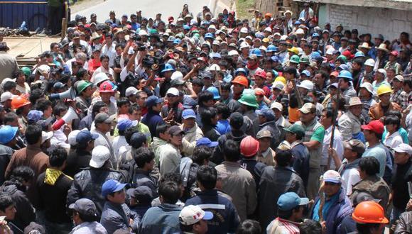 Apurímac: Ocho heridos en gresca entre mineros artesanales. (USI)