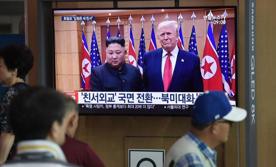 Las negociaciones sobre el programa nuclear norcoreano se encuentran estancadas desde febrero pasado. (Foto: AFP)