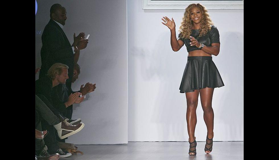 Williams dijo que estuvo seleccionando a las modelos y las prendas para el desfile durante el US Open. (AP)