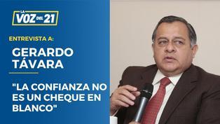 """Gerardo Távara: """"La confianza no es un cheque en blanco"""""""