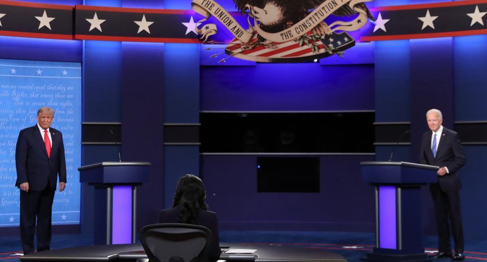 Trump y Biden culminan un debate plagado de acusaciones a 12 días de las elecciones | FOTOS