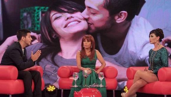 Angie Jibaja y Jean Paul Santa María se verán las caras en 'Magaly'. (Latina)