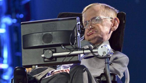 Hawking en el Estadio Olímpico de Stratford. (Reuters)
