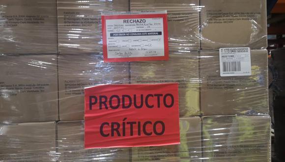 Digemid verificará el retiro completo y la destrucción de estos productos por parte de la empresa importadora. (Difusión)