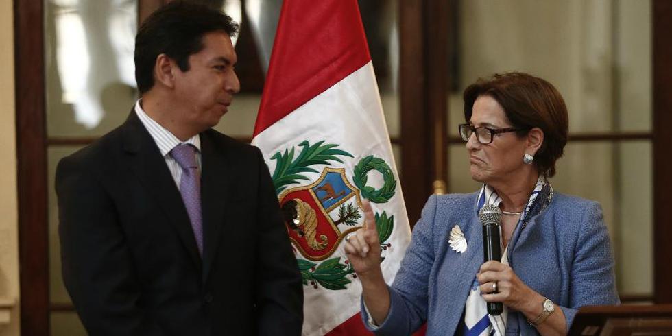 Susana Villarán puso las manos al fuego por José Castro en varias ocasiones. (USI)