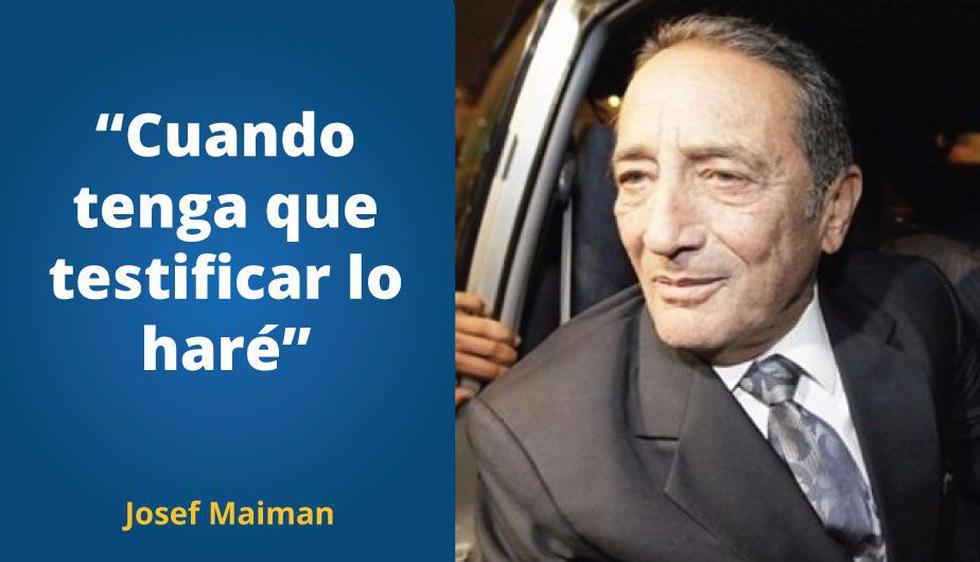 Las frases más resaltantes de la entrevista que ofreció Josef Maiman a IDL. (Composición)