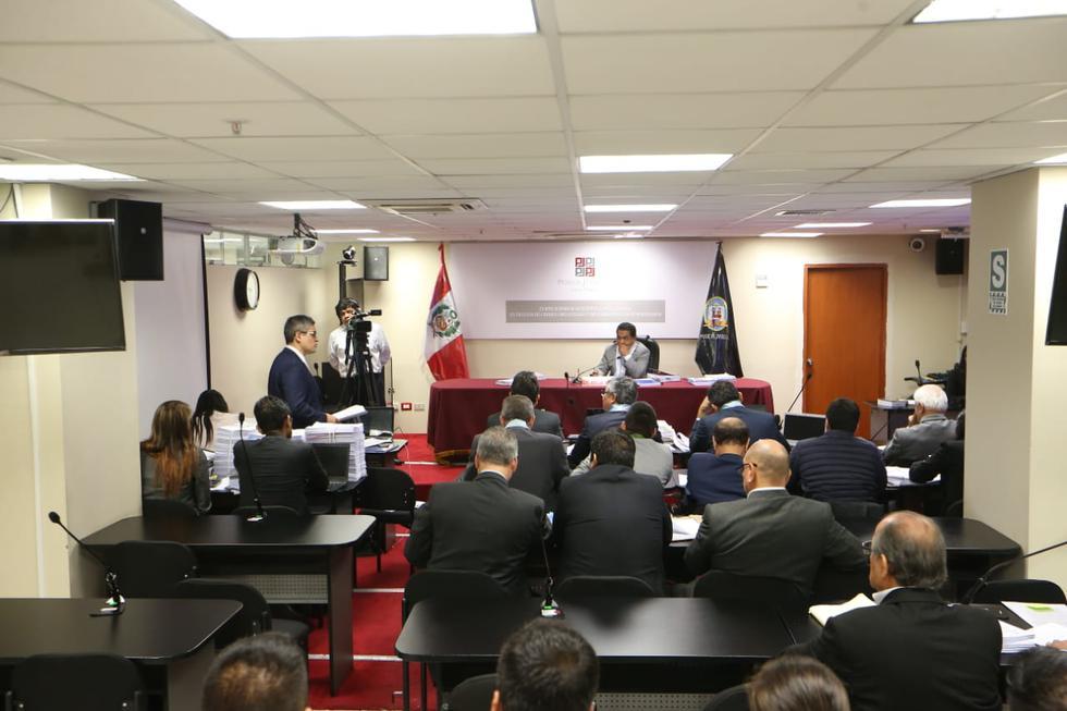 Audiencia de prisión preventiva para Luis Nava, Miguel Atala y otros. (Fotos: Manuel Melgar/GEC)