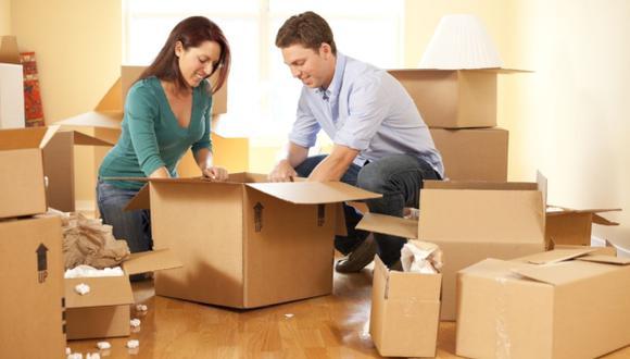 Cuatro horas regularmente demora la mudanza de un departamento. (USI)