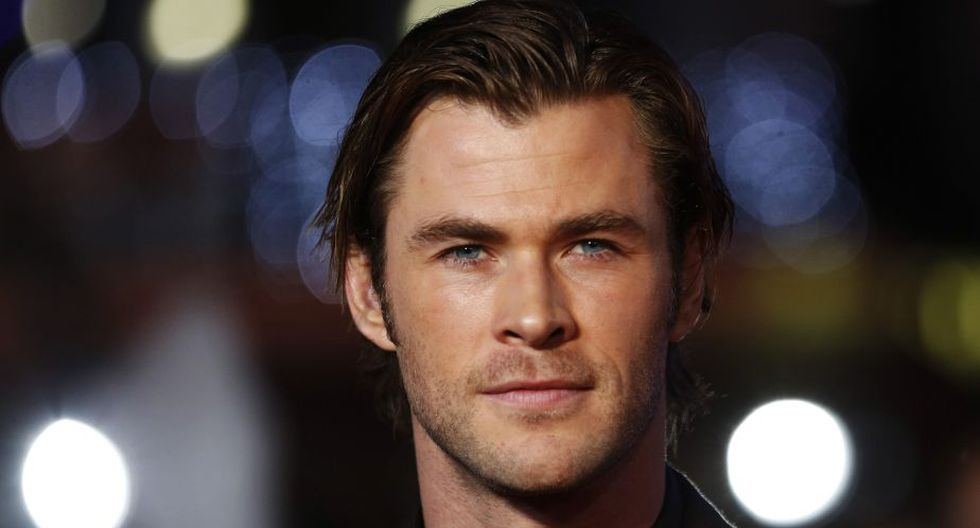 """El bitánico Chris Hemsworth, protagonista de """"Thor"""" y hermano mayor de Liam, es uno de los pocos no británicos en la lista. (Reuters)"""