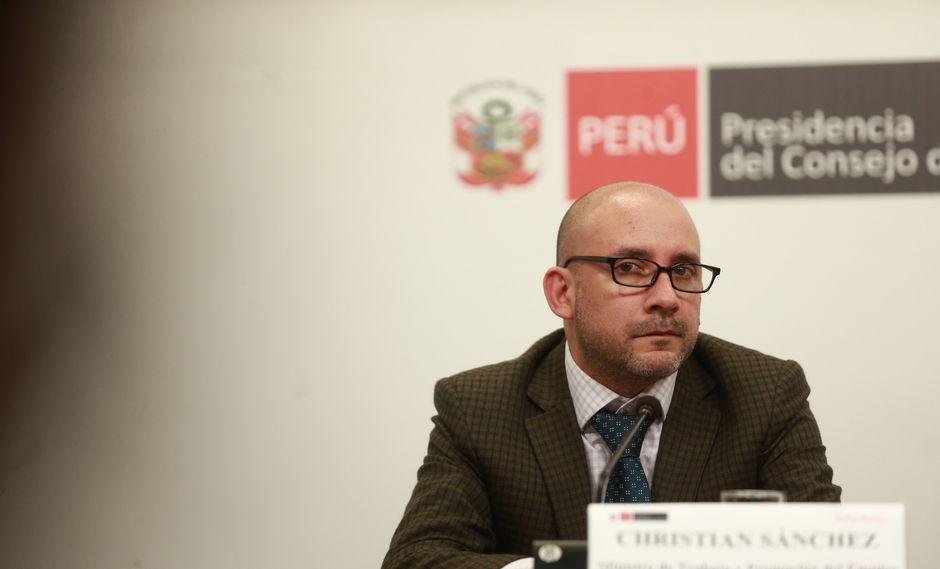 Christian Sánchez indicó que en la lista de delitos en los cuales esta ley no aplica no está considerado el delito de lesa humanidad, lo cual podría generar problemas con la Corte IDH. (Foto: USI)
