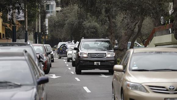 Mañana habrá trabajos en tres calles de San Isidro. (USI/Referencial)