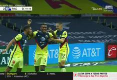 Pedro Aquino marcó en México: así fue su primer gol con América ante Pachuca [VIDEO]