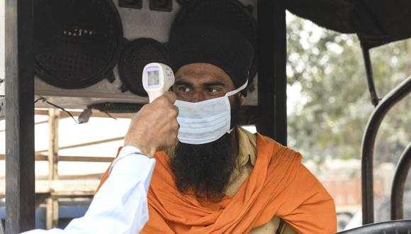 La variante Delta fue detectada primero en India. (Foto: NARINDER NANU / AFP).