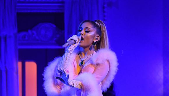 "Ariana Grande lleva su última gira a Netflix con ""excuse me, I love you"". (Foto: AFP/Robyn Beck)"