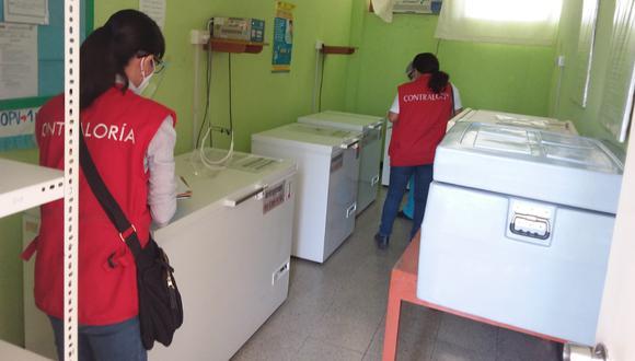 Áncash: nosocomios de la región no garantizan los equipos suficientes en la cadena de frio para el almacenamiento de las vacunas, (Foto: Contraloría9