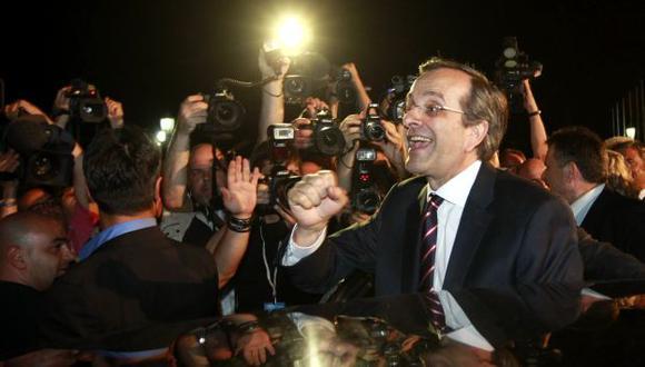 Antonis Samaras, líder de Nueva Democracia, debe hilar fino para conseguir formar un gobierno de coalición nacional. (Reuters)