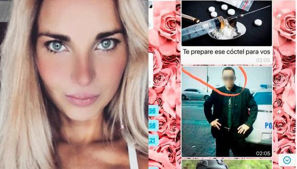 """Influencer argentina expone acoso de un seguidor: """"Te voy a raptar y vas a ser mi esclava"""""""