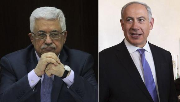 Mahmud Abás y Benjamin Netanyahu enviarán representantes.  (Reuters)