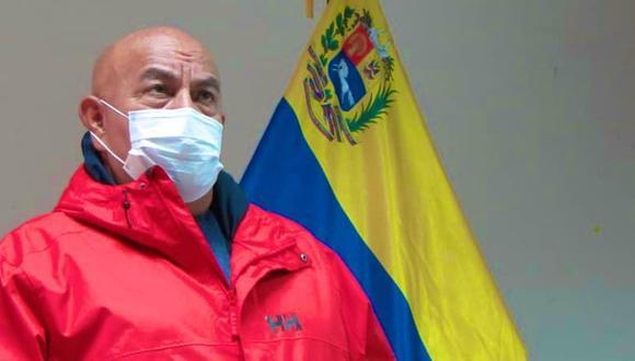 chavista Darío Vivas, jefe de Gobierno de Caracas, falleció por coronavirus. (Foto: Twitter @dariovivaspsuv).