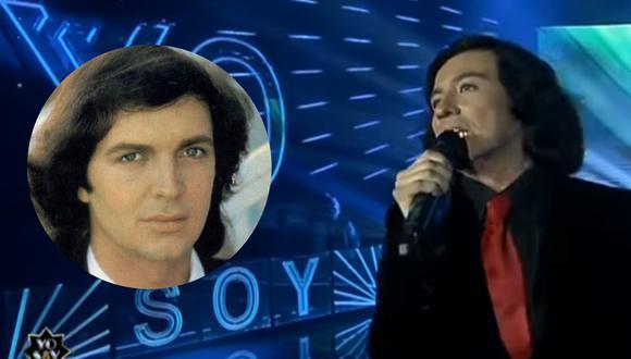 Imitador de Camilo Sesto sorprendió al jurado de 'Yo Soy'. (Composición)